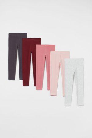 H&M Leggings & Treggings - Leggings en jersey, lot de 5