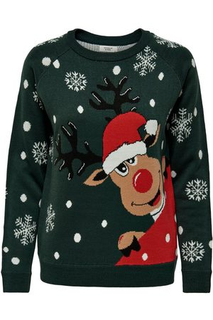 ONLY Noël En Tricot Pullover Women Green