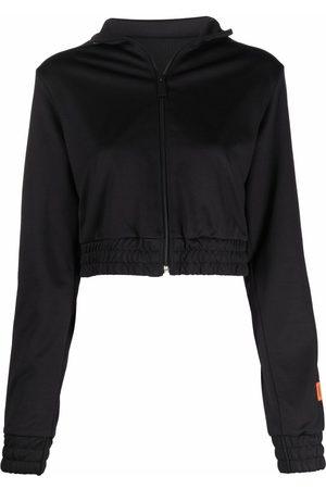 Heron Preston Femme Sweatshirts - TRACKTOP LOGO BLACK BLACK