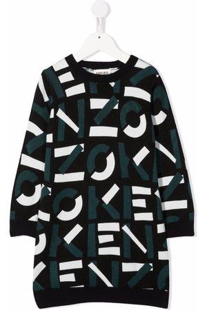 Kenzo Femme Robes imprimées - Logo print dress