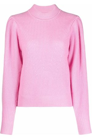 Isabel Marant Adele purl-knit puff-sleeves jumper