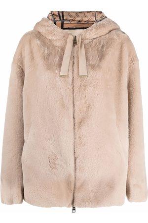 HERNO Femme Manteaux - Faux-fur coat