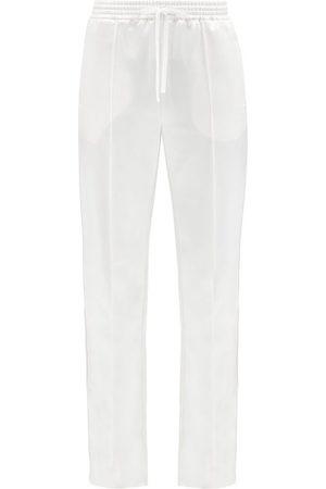 Chloé Pantalons classiques - Pantalon en satin de laine mélangée à cordon