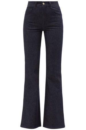 Chloé Femme Taille haute - Jean évasé taille haute