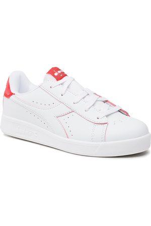 Diadora Femme Baskets - Sneakers - Game P Smash Gs 101.177723 01 C2061 White/Tomato Red