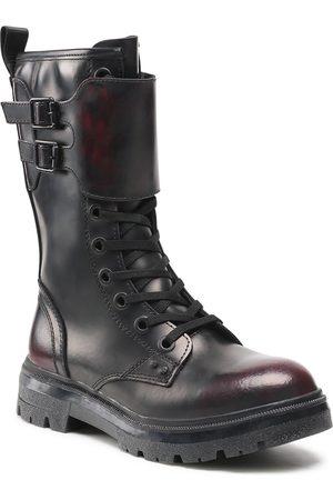 Wrangler Femme Bottines - Bottines - Clash Combat WL12573A Black/Burgundy 338
