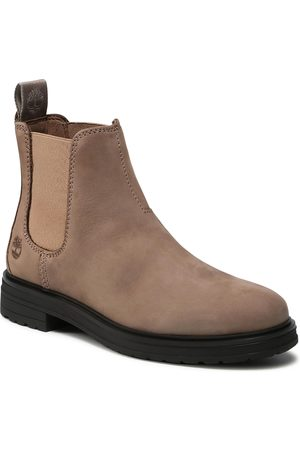 Timberland Bottines Chelsea - Hannover Hill TB0A2KHV929 Taupe Nubuck