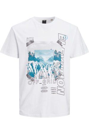 JACK & JONES Imprimé Photo T-shirt Men White