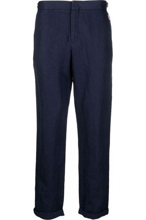 Orlebar Brown Pantalon de costume Griffon en lin