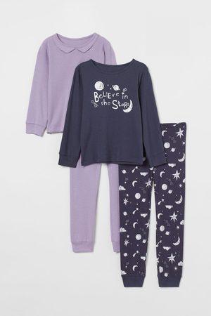 H&M Pyjamas en jersey, lot de 2