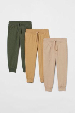 H&M Lot de 3 pantalons jogger