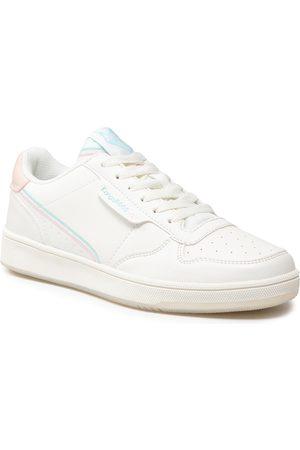 KangaROOS Femme Baskets - Sneakers - Rc-Skool 39206 000 0006 White/Frost Pink