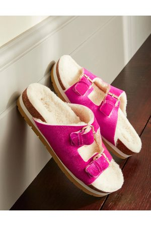 Boden Femme Chaussons - Chaussons cosy FLR Femme Boden
