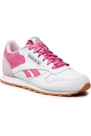 Reebok Chaussures - Cl Lthr S29113 Ftwwht/Frober/Trupnk