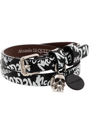 Alexander McQueen Bracelet à imprimé graffiti