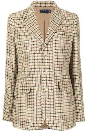 Polo Ralph Lauren Femme Vestes - Blazer à motif pied-de-poule