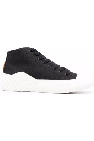 Kenzo Two-tone mid-top sneakers