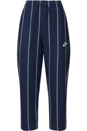 Nike Pantalon En Jersey De Coton À Rayures