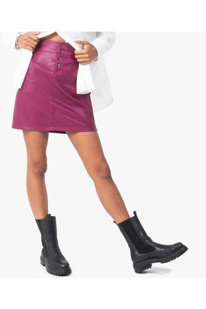 Gémo Jupe femme avec ceinture élastiquée froncée