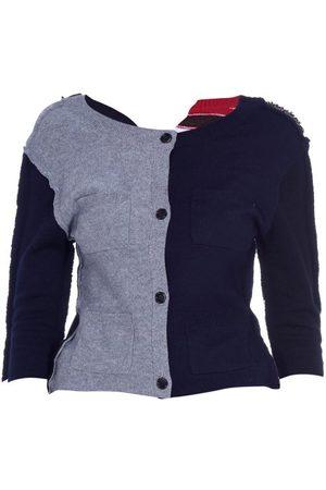 Marni Cardigan en laine mélangée contrastante
