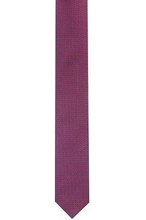 HUGO BOSS Homme Cravates - Cravate en pure soie à micro motif