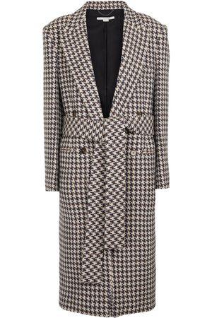 Stella McCartney Manteau en laine à carreaux