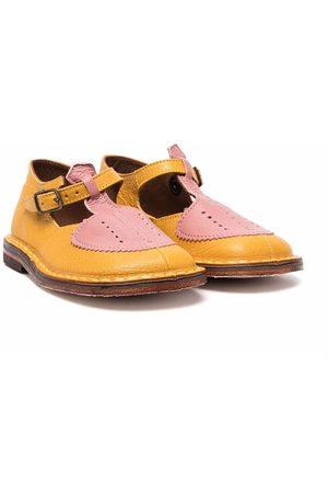 PèPè Fille Ballerines - Chaussures bicolores à boucle