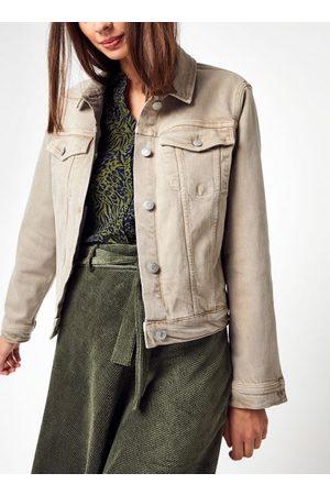 Knowledge Cotton Apparal LILLIAN Natural dye Boxy Workwear Overshirt - GOTS/Vegan par