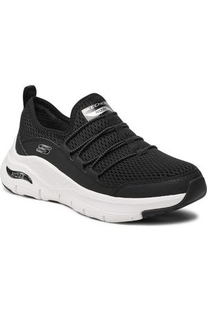 Skechers Chaussures - Lucky Thoughts 149056/BKW Black/White