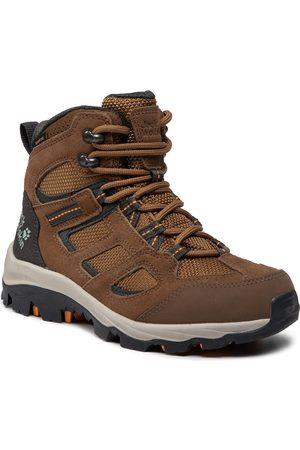 Jack Wolfskin Femme Chaussures - Chaussures de trekking - Vojo 3 Texapore Mid W 4042471 Brown/Apricot
