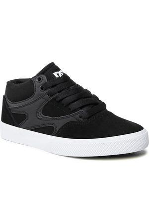 DC Sneakers - Kalis Vulc Mid ADYS300622 Black/Black/White (XKKW)