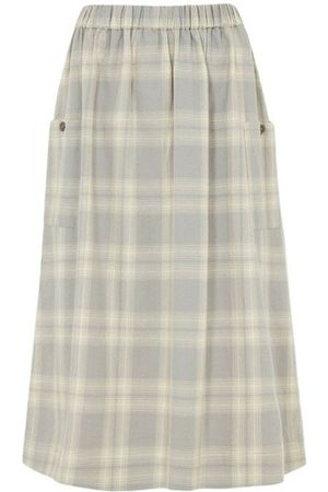 People Tree Tyler Checked Skirt , Femme, Taille: UK 14