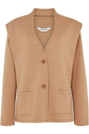 People Tree Anika Quilted Jacket , Femme, Taille: UK 12
