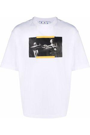 OFF-WHITE T-shirt à imprimé Caravaggio