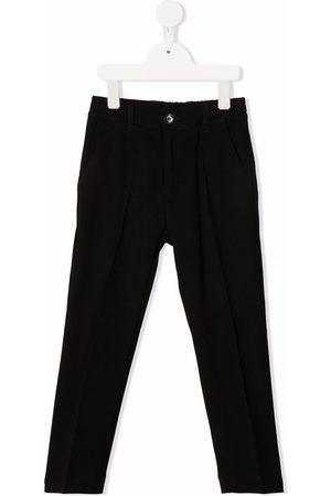 Paolo Pecora Pantalon à détails de plis