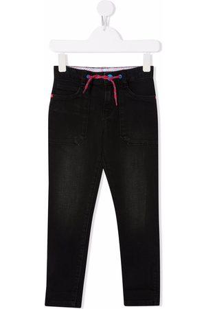 The Marc Jacobs Jean slim à taille à lien de resserrage