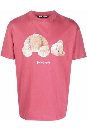 Palm Angels T-shirt à imprimé ourson