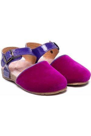 PèPè Letizia velvet sandals