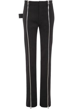 Bottega Veneta Femme Pantalons classiques - Pantalon En Laine Stretch Doublée