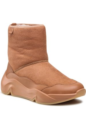 Ecco Femme Bottes - Bottines - Chunky Sneaker W 20320360220 Caramel/Caramel