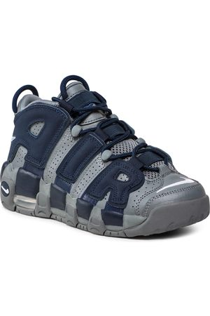 Nike Garçon Chaussures basses - Chaussures - Air More Uptempo (Gs) 415082 009 Cool Grey/White/Midnight Navy