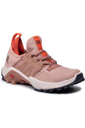 Salomon Chaussures - Madcross W 414425 20 V0 Sirocco/Mocha Mousse/Red Orange