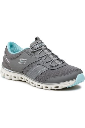 Skechers Sneakers - Just Be You 104087/CCLB Charcoal/Light Blue