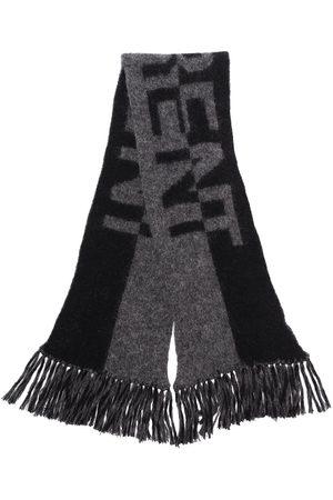 Saint Laurent Split logo scarf