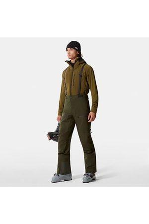 The North Face Homme Combinaisons de ski - Pantalon Freethinker Futurelight™ Pour Homme Rosin Green Taille L Standard