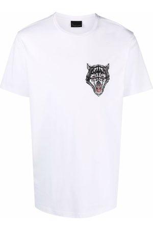 BILLIONAIRE T-shirt à logo brodé