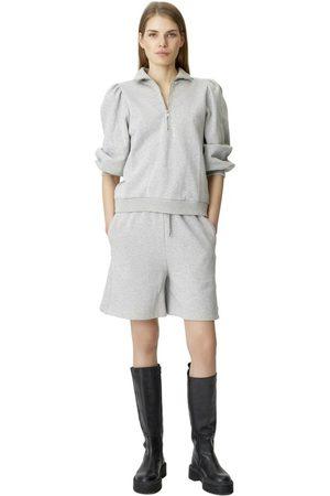 Gestuz NankitaGZ ss zipper sweatshirt , Femme, Taille: XS