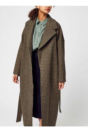 Knowledge Cotton Apparal Femme POPPY Wool Lapel Coat - GRS par