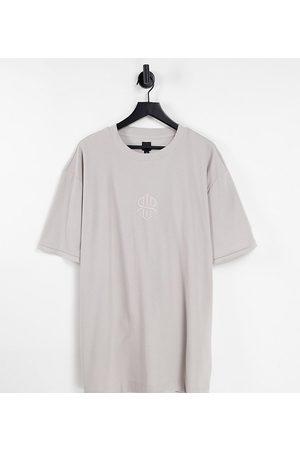 River Island Big & Tall - T-shirt gaufré coupe classique
