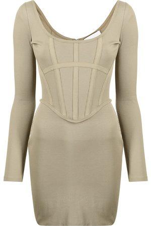 DION LEE Corset-style mini dress